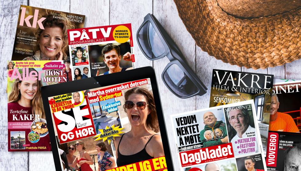 Med PlussMobil får du digitalt lesestoff fra Aller Media inkludert i abonnementet.
