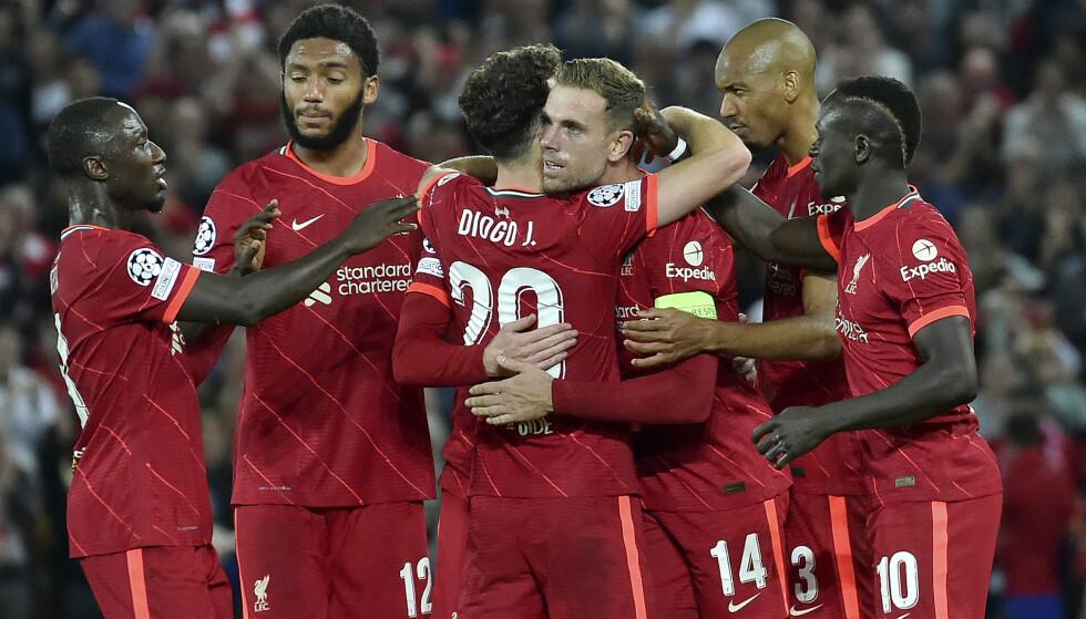 HELT: Jordan Henderson ble matchvinner for Liverpool. Foto: AP Photo/Rui Vieira.
