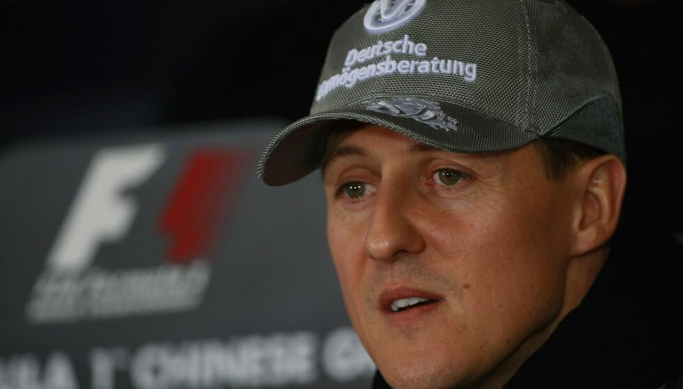 SLEIT: I et intervju vist i den nye Schumacher-dokumentaren forteller han at han sleit mentalt etter Ayrton Sennas dødsfall. Foto: Shutterstock Editorial