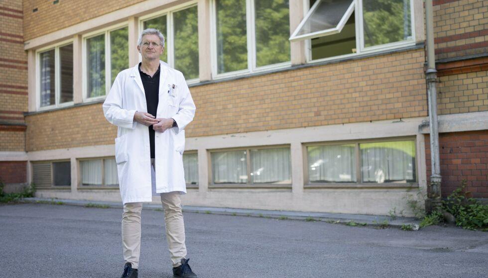 FORSKER: Geir Selbæk forteller om de tidlige tegnene for demenssykdom, og hva han selv gjør i hverdagen for å forebygge. Foto: Fredrik Hagen/Dagbladet