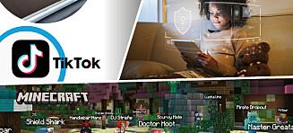 Slik gjør du TikTok og Minecraft trygt for barna