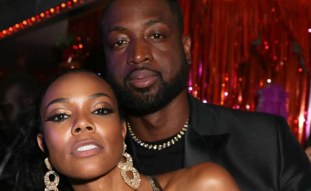 TUNG TID: Gabrielle Union åpner seg for første gang om da hun fikk vite at hennes nåværende ektemann, Dwayne Wade, hadde fått barn med en annen kvinne. Foto: MediaPunch / REX / NTB