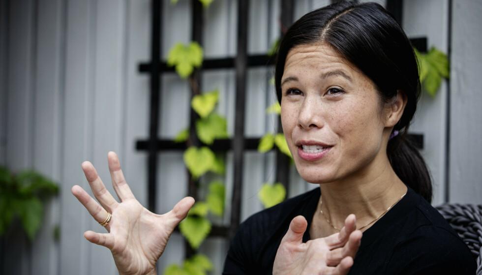 SKUFFENDE VALG: Lan Marie Berg og Oslo MDG falt 6,8 prosentpoeng fra valget i 2019. Også nasjonalt skuffet partiet. Foto: Nina Hansen / DAGBLADET