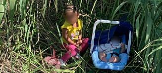 Baby og toåring forlatt: - Hjerteskjærende
