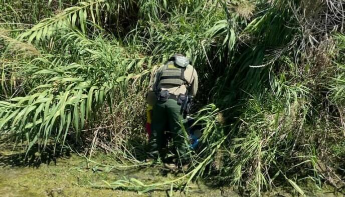 SENDT TIL SYKEHUS: Barna ble raskt tatt hånd om og sendt til sykehus for undersøkelser. Foto: U.S. Customs and Border Protection