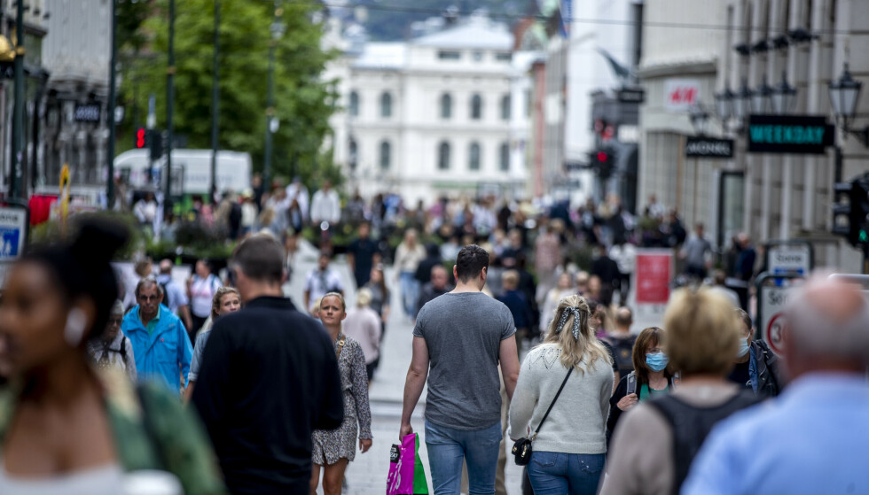 VAKSINERING: I Oslo har 88,8 prosent av befolkningen over 18 år fått første dose av vaksina, mens 73,8 prosent har fått dose to. Foto: Javad Parsa / NTB