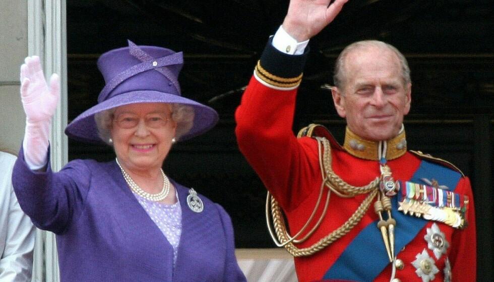 DØDE: Prins Philip gikk bort tidligere i år. Her med dronning Elizabeth Foto: PPE/SIPA/Shutterstock/NTB