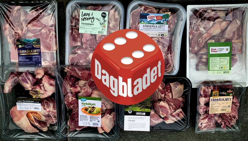 BEST NÅ: Nå er årets lammekjøtt i butikk, og en av rettene vi gleder oss til å lage er fårikål. To av disse pakkene imponerte vårt testpanel stort.