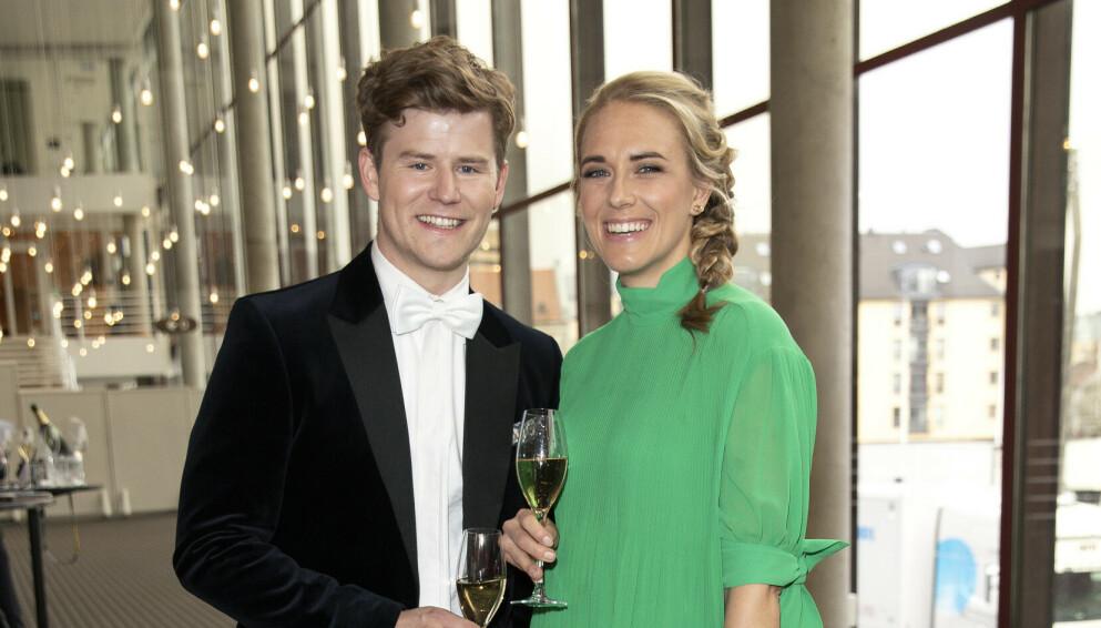 FORELDRE: Nicolay Ramm og forloveden Josephine Leine Granlie ble foreldre for første gang i år. Foto: Andreas Fadum / Se og Hør