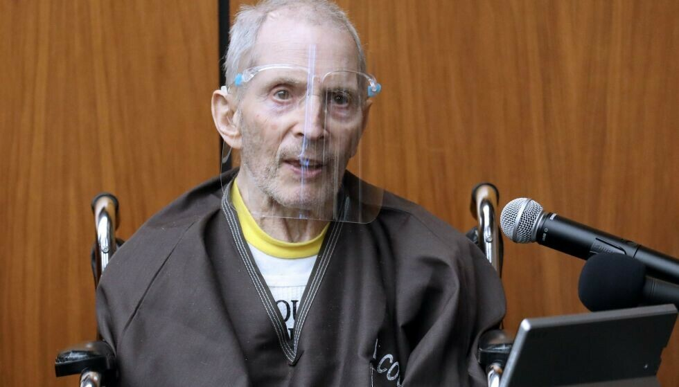 DØMT: Robert Durst ble natt til lørdag norsk tid funnet skyldig i drapet på barndomsvenninna Susan Berman i år 2000. Foto: Gary Coronado / Los Angeles Times