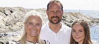 Besøkte den svenske kronprinsfamilien