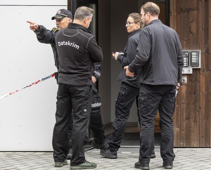 DRAPSETTERFORSKNING: Politiet undersøker blant annet elektroniske spor etter voldshendelsen i Bergen natt til søndag forrige helg. Foto: Marit Hommedal / NTB