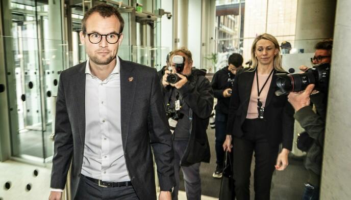 I HARDT VÆR: Kjell Ingolf Ropstad. Foto: Hans Arne Vedlog / Dagbladet