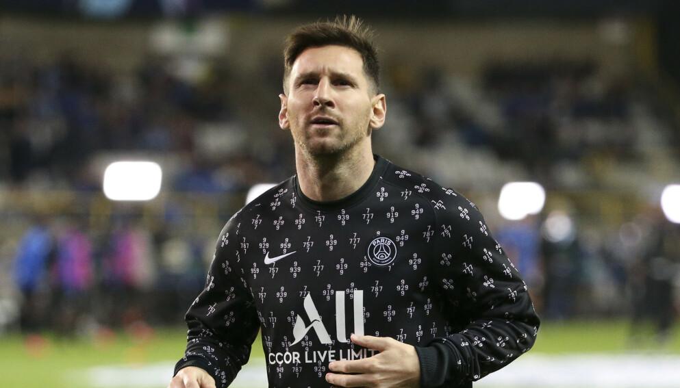 NOK TIL SALT I MATEN: Lionel Messi tjener over én milliard i PSG. Foto: NTB