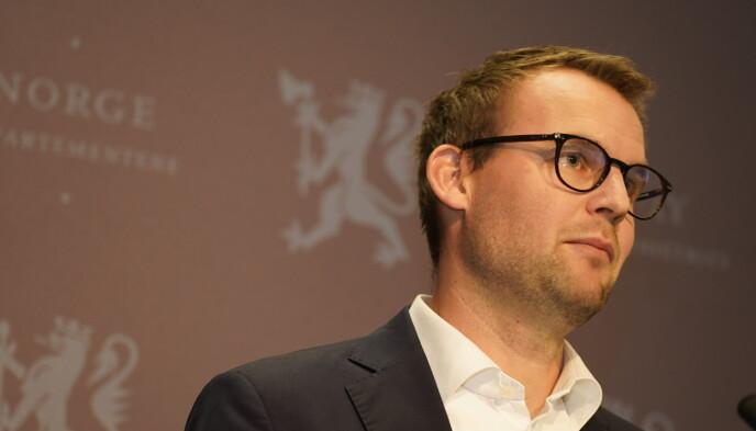 GÅR AV: Kjell Ingolf Ropstad gir seg som partileder og statsråd. Foto: Hans Arne Vedlog / Dagbladet