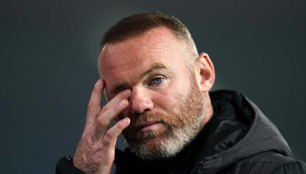 TUNG BESKJED: Wayne Rooney og Derby har en tøff sesong i vente. Foto: PA