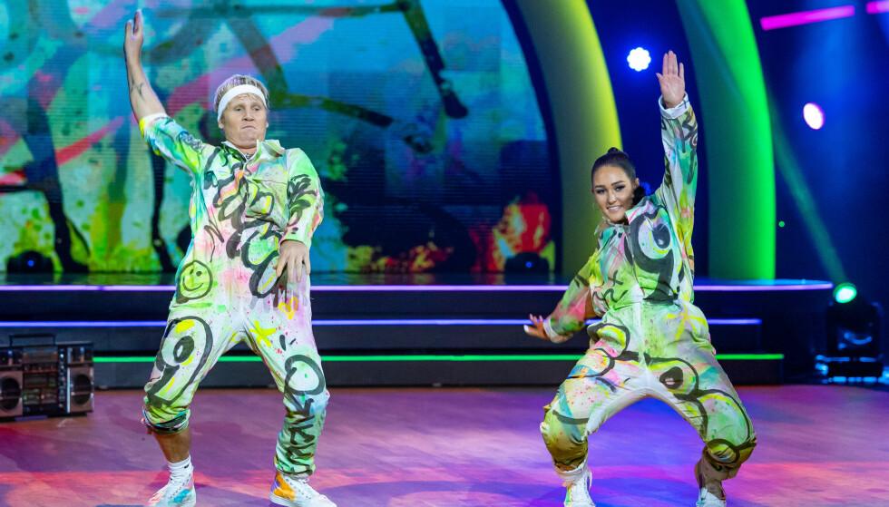 - Aspetta: anche Vinnie e Ricky sono stati elogiati per il loro modo di ballare.  Foto: Thomas Andersen / TV 2