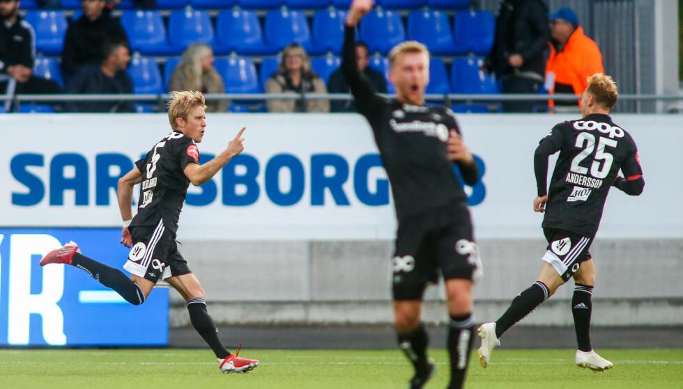 FEIER: Per Ciljan Skjelbred og Rosenborg. Foto: NTB