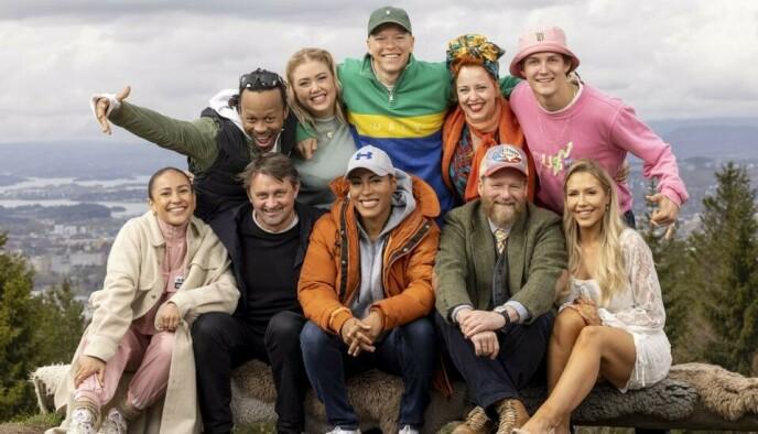 UT PÅ TUR: Her er kjendisene som deltar i høstens «71 grader nord - Norges tøffeste kjendis». Foto: Morten Bendiksen / Discovery