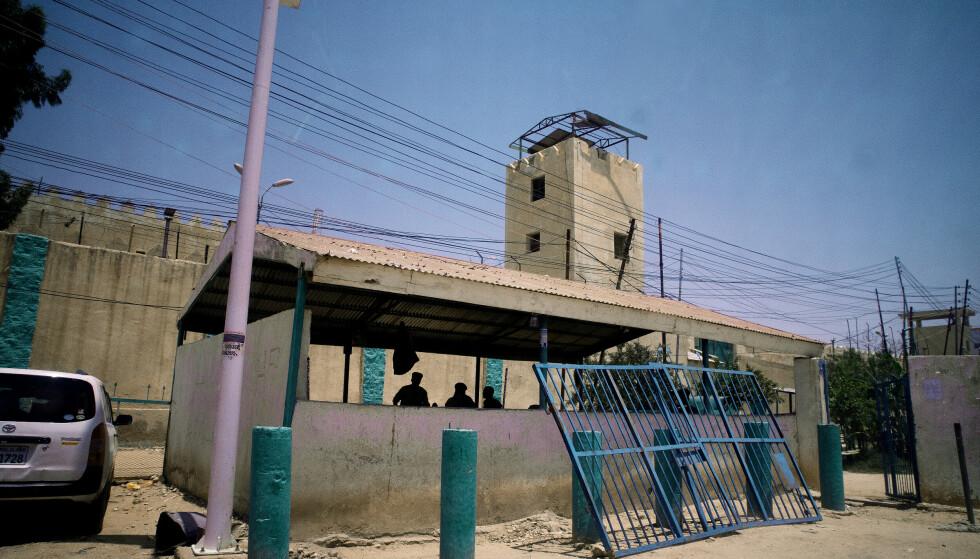 HARGEISA, SOMALILAND: I dette fengslet sitter den drapsdømte normannen Saad Jider Hayd (55) som er dømt til døden i Somaliland. Foto: Henning Lillegård / Dagbladet