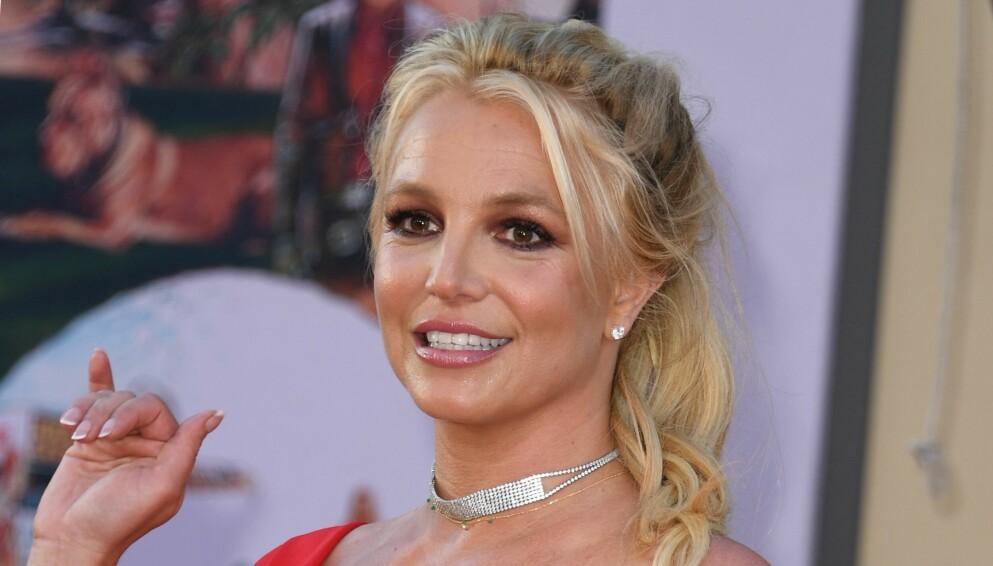 TILBAKE: Britney Spears- pause fra sosiale medier varte ikke mer enn ei liten uke. Foto: Valerie Alerie Macon / AFP