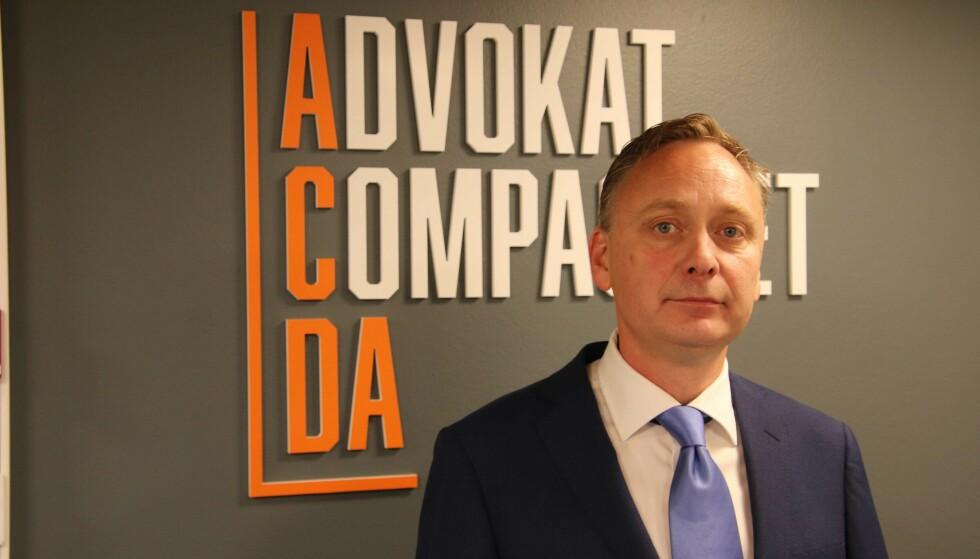 BISTÅR: Forsvarer Morten Grimstad. Foto: Stian Drake / Dagbladet