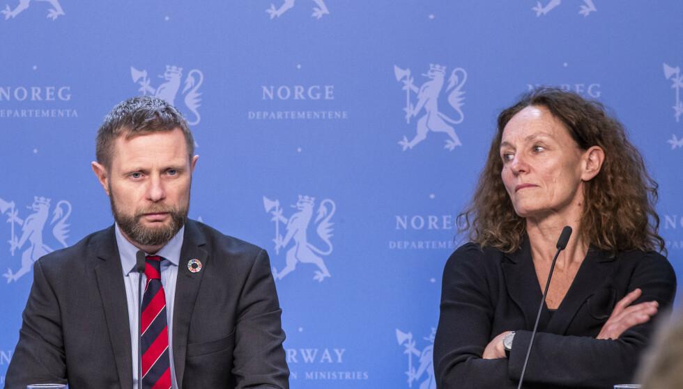DRAMA: Camilla Stoltenberg avslører internt drama i sin nye bok. Foto: Terje Pedersen / NTB