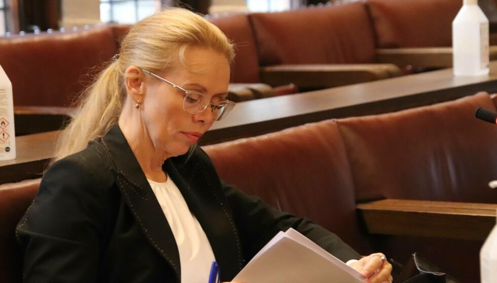 BISTANDSADVOKAT: May Britt Løvik er bistandsadvokat, både for de pårørende til den avdøde kvinnen og den lettere skadde kvinnen. Foto: Stian Drake / Dagbladet