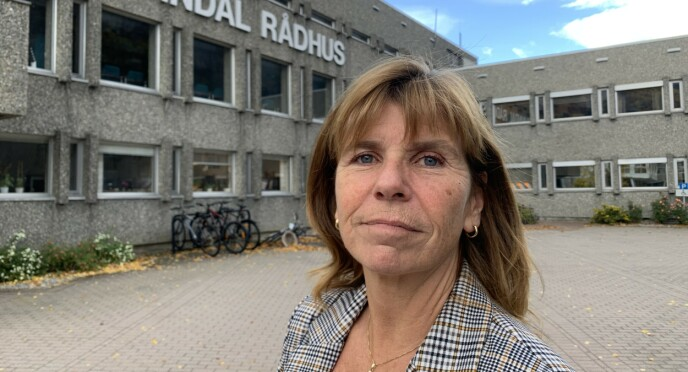 SVARER: Randi Dyrnes, kommunedirektør i Sunndal. Foto: Tommy Fossum / Driva