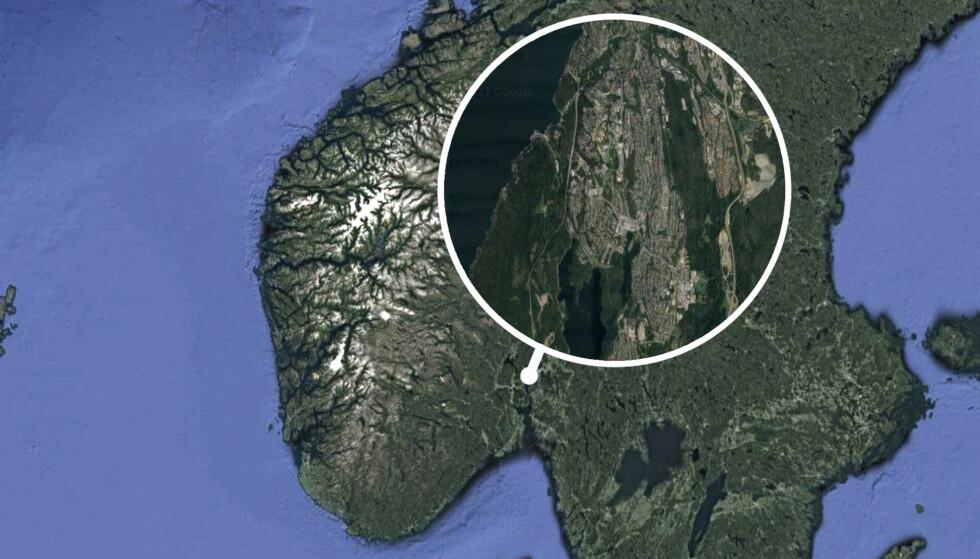 STEDET: Kolbotn er et tettsted i Nordre Follo kommune i Viken, 13 kilometer sør for Oslo. Foto: Skjermbilde.