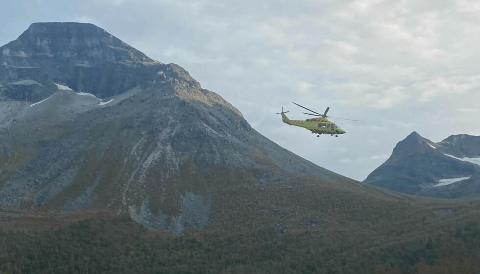 - POPULÆRT: Skarfjellet består av tre forskjellige klatrebare fjell, ifølge leder for Kristiansund fjellklubb, Stig Kanestrøm. Stedet ulykken skjedde er et populært klatreområde. Foto: Tommy Fossum