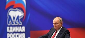 Putin strammer grepet