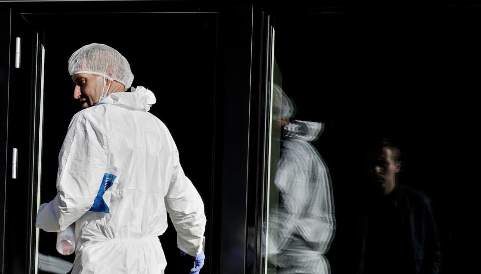 ETTERFORSKNING: Tekniske og taktiske undersøkelser har påbegynt. Foto: Hans Arne Vedlog / Dagbladet