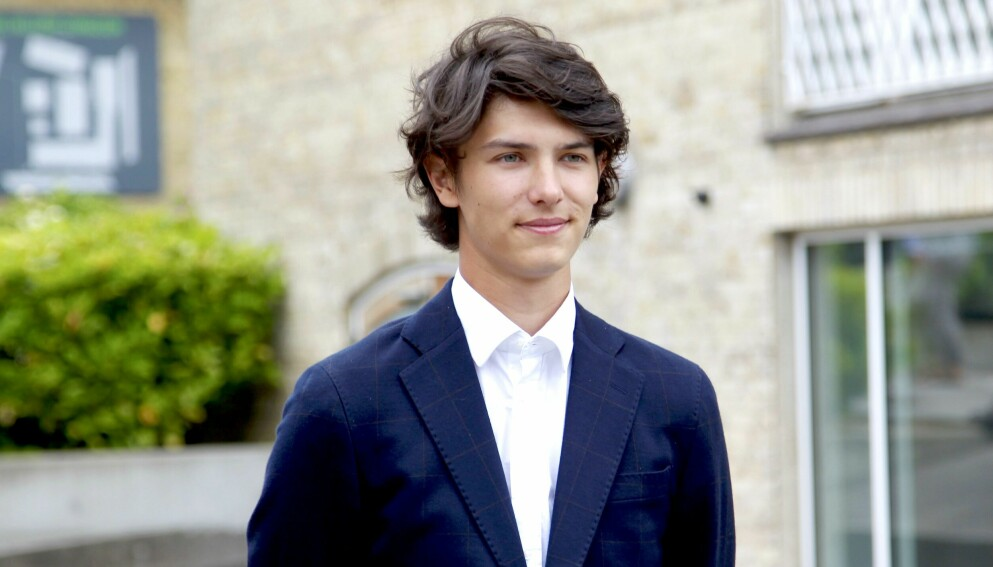 PÅ FLYTTEFOT: Prins Nikolai skal straks flytte til Paris. Der skal han imidlertid bo uten kjæresten. Foto: Christophersen / PPE / SIPA / Shutterstock / NTB