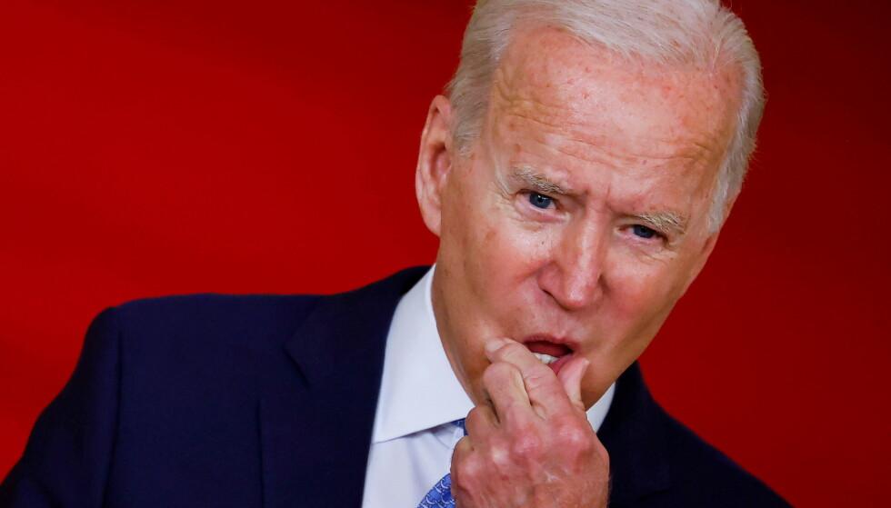 KRITIKK: EU-toppene langer ut mot USA og president Joe Biden for måten de har behandlet Frankrike. Norsk forsker feller knusende dom over det amerikanske diplomatiet i saken. Foto: Reuters / NTB