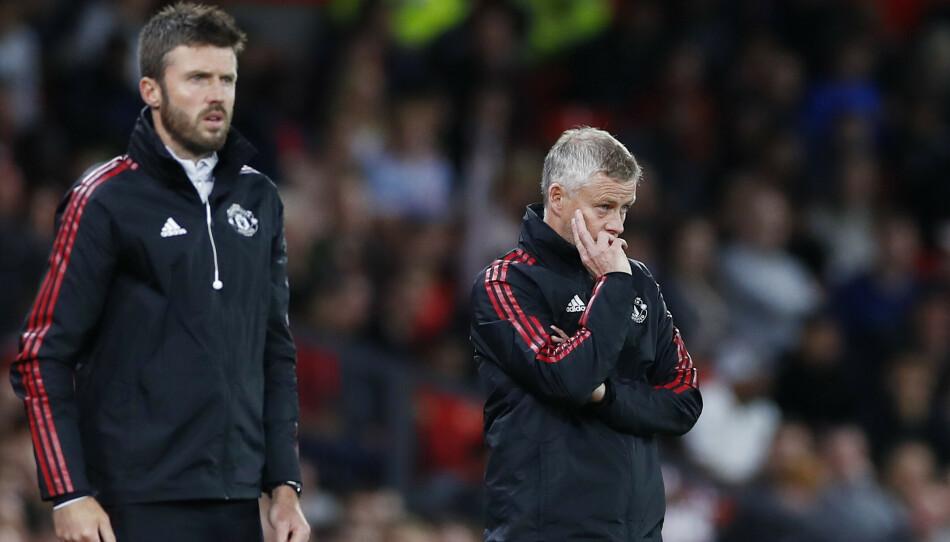 SKUFFET: Ole Gunnar Solskjær og hans menn gjorde ikke jobben hjemme mot West Ham. Foto: Reuters
