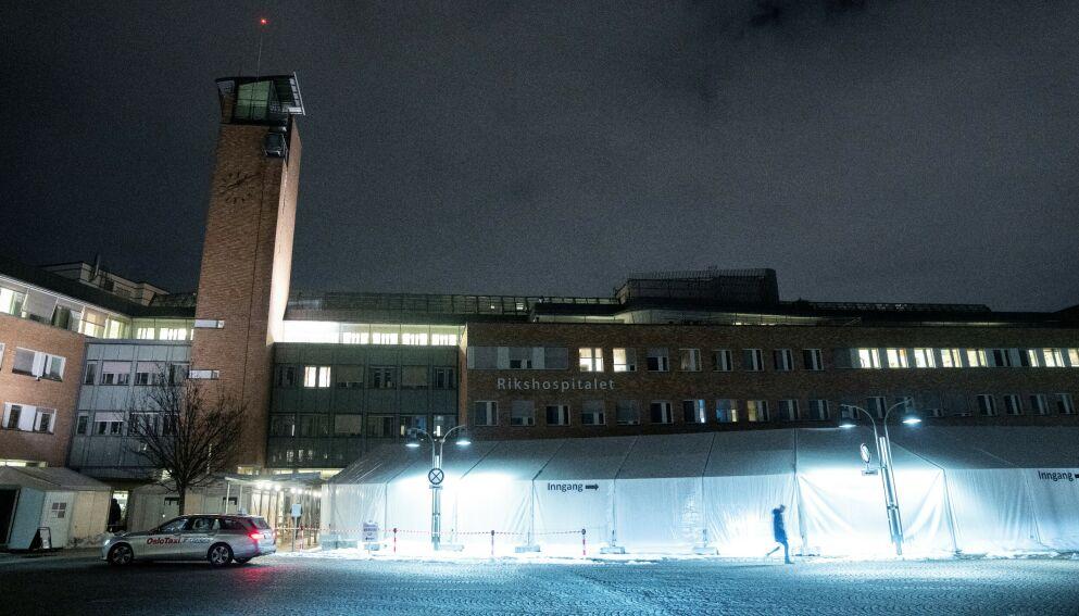 FEM TILFELLER: Oslo universitetssykehus bekrefter fem tilfeller av vexas-syndromet. Foto: Fredrik Hagen / NTB