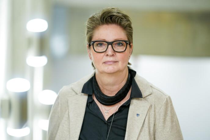 BERØRT: Ordfører Hanne Opdan i Nordre Follo kommune. Foto: Fredrik Hagen / NTB