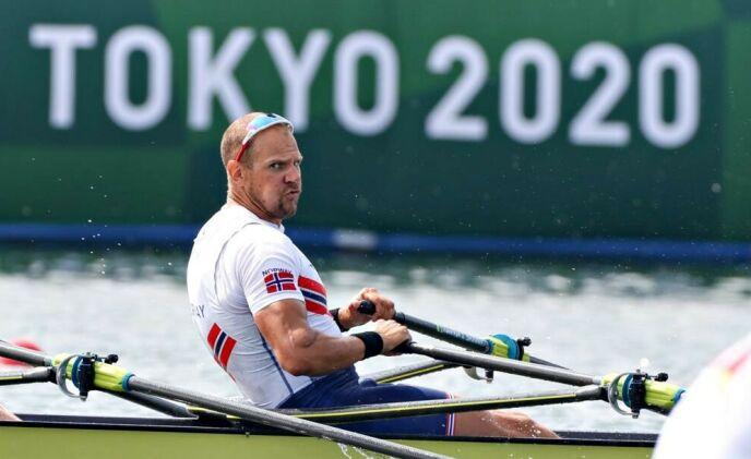 FERDIG: Olaf Tufte la opp etter Tokyo-OL. Foto: Bjørn Langsem