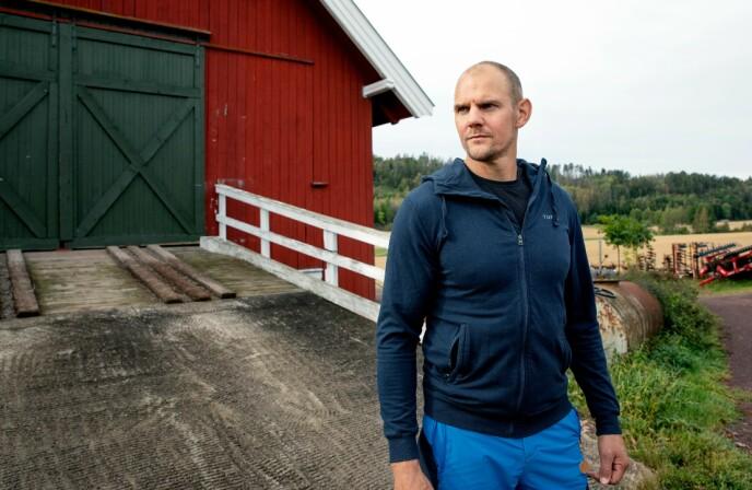 TOPPTRENT: Olaf Tufte trener fortsatt fra én til fire timer hver dag, selv om han hevder karrieren er over. Foto: Kristin Svorte