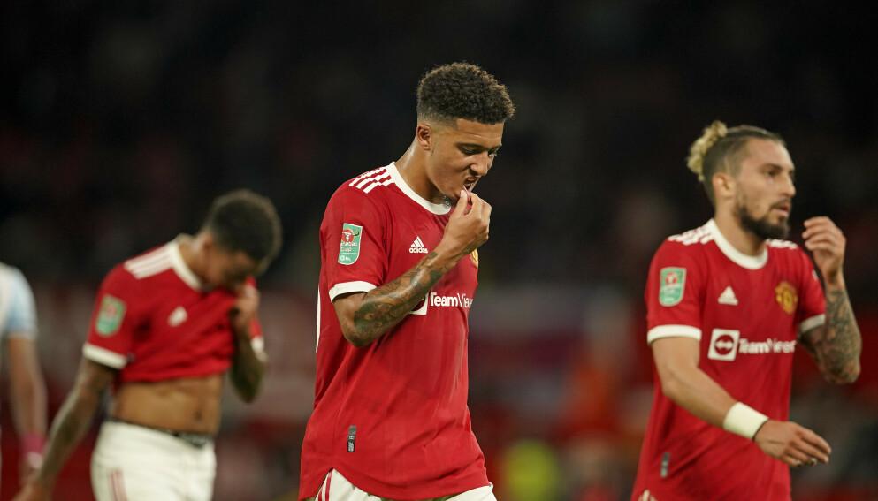 TUNG START: For Manchester Uniteds Jadon Sancho. Foto: Dave Thompson/AP/NTB