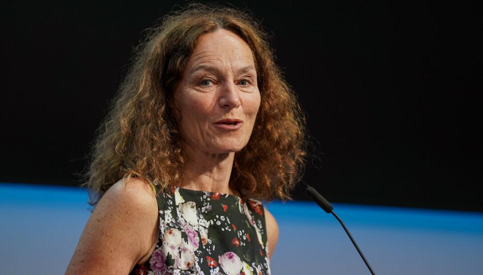 RASKE VAKSINER: FHI-direktør Camilla Stoltenberg hadde trodd at corona-epidemien i Norge skulle tatt lenger tid. Foto: Ali Zare / NTB.