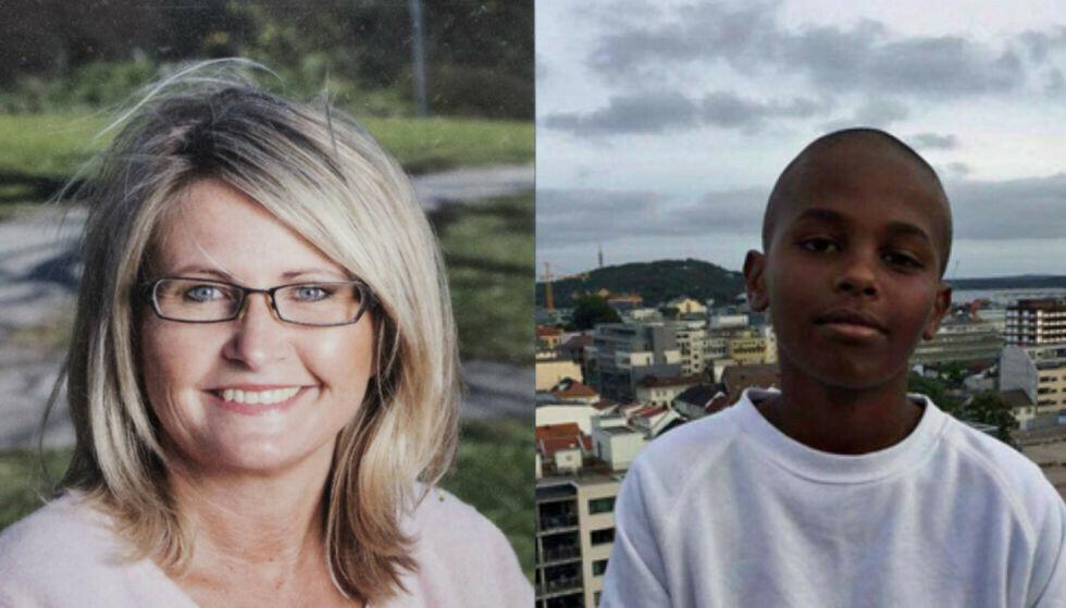 DREPT: Tone Ilebekk (48) og Jakob Hassan ble drept 5. desember 2016.