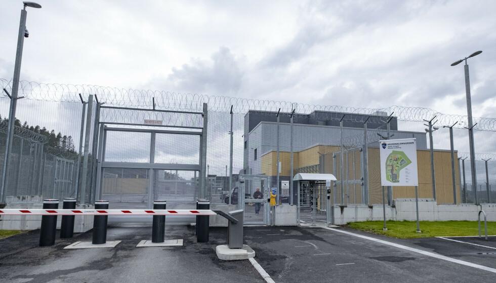 SONET HER: Den nå døde mannen sonet i Mandal fengsel. Foto: Tor Erik Schrøder / NTB
