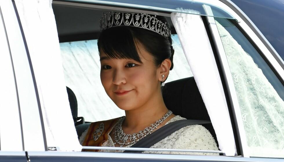 KONTROVERS: Prinsesse Mako av Japan ønsker å gifte seg med en helt alminnelig mann. Det har skapt konflikt i hjemlandet. Foto: Toshifumi Kitamura / AFP / NTB