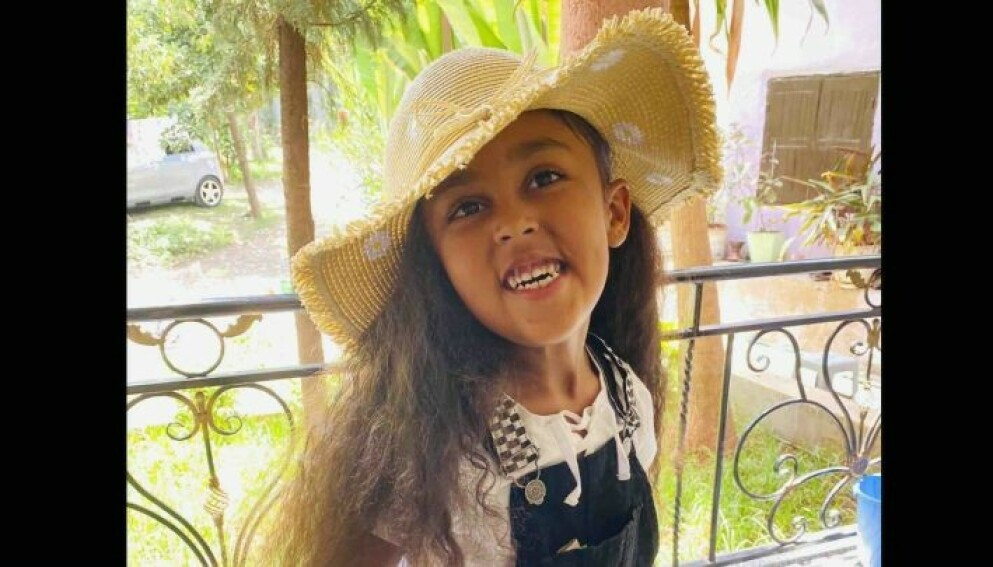 TRAGEDIE: Wongel Estifanos (6) mistet brått livet da hun og familien var på ferie og besøkte Glenwood Caverns Adventure Park. Foto: Privat/GoFundme