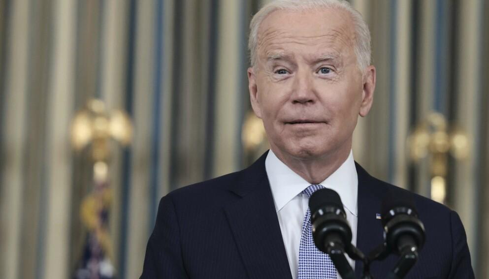 - LØGNER: Flere amerikanske politikere raser mot Joe Biden etter en Twitter-melding publisert lørdag. Foto: AFP / NTB