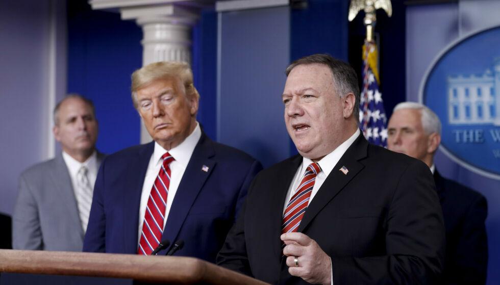 NY RAPPORT: CIA og Trump-administrasjonen skal diskutert attentat og bortføring av Wikileaks-grunlegger Julian Assange etter at Wikileaks i 2017 publiserte det de hevdet var tusenvis av konfidensielle CIA-dokumenter. Foto: NTB / Al Drago / UPI / Shutterstock