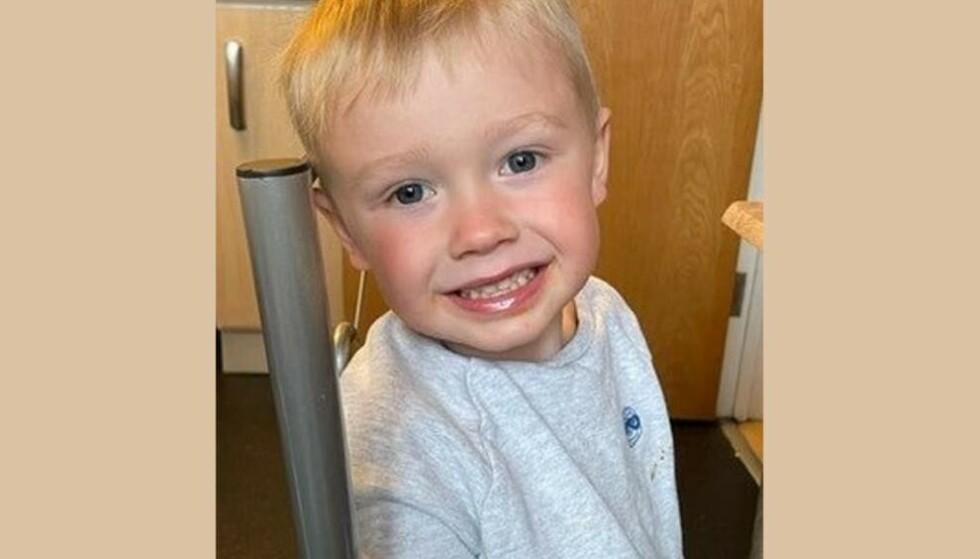MISTET LIVET: 3. august døde tre år gamle Ianito Jenkins. Foto: Frigitt av Heddlu Dyfus-Powys-politiet