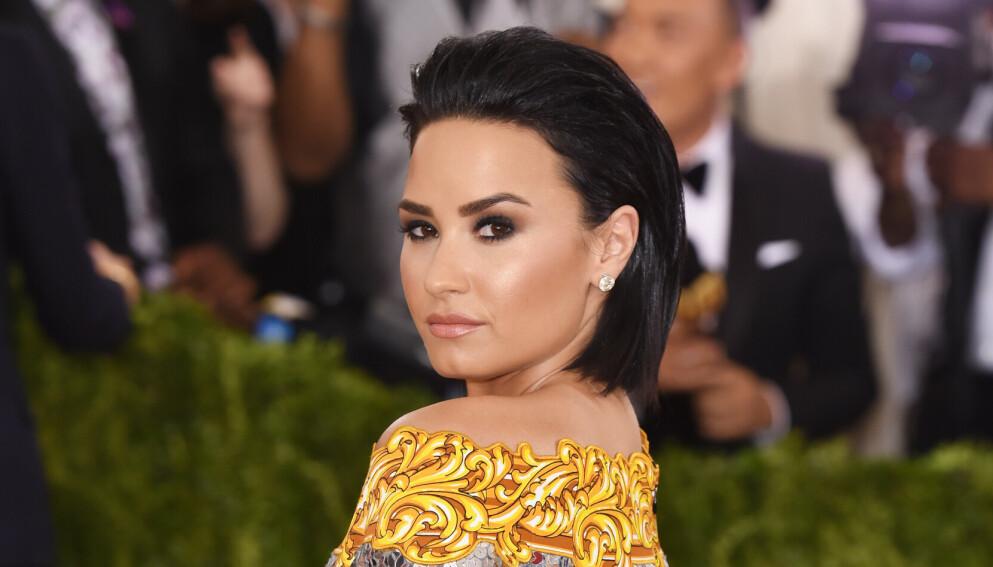 UFO-JAKT: Demi Lovato hevder hen har fått kontakt med det utenomjordiske. Foto: David Fisher/REX/NTB